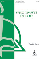 who trusts in god
