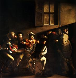 Caravaggio - The Calling of St Matthew