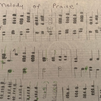 Melody of Praise (original manuscript)
